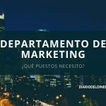 Estructura de un departamento de marketing básico