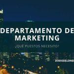 Estructura de un departamento de marketing básico